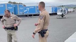 Trực thăng cảnh sát Mỹ bắt nghi phạm sau cuộc rượt đuổi gần 60km