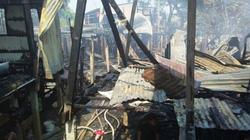 10 căn nhà gỗ ở An Giang bị lửa thiêu rụi hoàn toàn