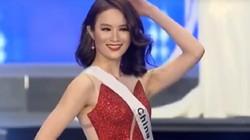 """Sau Lê Âu Ngân Anh, đến lượt người đẹp Trung Quốc """"đạo nhái"""" Hoa hậu Hoàn vũ"""