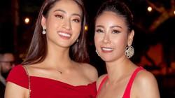Hoa hậu Lương Thùy Linh diện váy trễ vai nuột nà đọ dáng cùng đàn chị Hà Kiều Anh