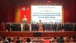 Công bố Quyết định thành lập Đảng bộ TP.Hạ Long
