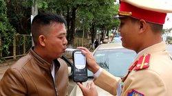 CSGT Sơn La ra quân kiểm tra, xử lý 4 trường hợp vi phạm nồng độ cồn