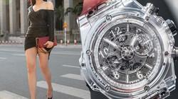 Mai Phương Thúy giàu tới mức bỏ 1,4 tỷ đồng mua đồng hồ chỉ vì thích dây trong