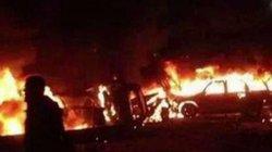 Sau cái chết của tướng quyền lực nhất Iran, đoàn xe chở dân quân tại Iraq lại bị không kích