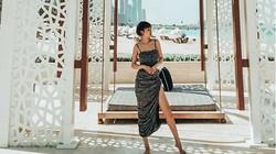 Vợ đại gia Minh Nhựa hiếm khi mặc lại đồ