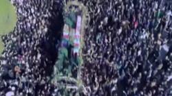 Triệu người Iran đổ ra chật kín đường dự đám tang tướng Solemani bị Mỹ sát hại
