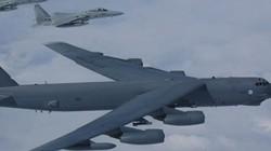 6 oanh tạc cơ chiến lược B-52 Mỹ vào vị trí dội bom Iran, chờ lệnh ông Trump