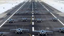 """Video: 52 chiến đấu cơ tàng hình F-35 Mỹ trị giá 4,2 tỉ USD đồng loạt cất cánh """"dằn mặt"""" Iran"""