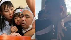 7 năm xa cách, con trai NS Nguyễn Chánh Tín òa khóc trong giây phút nhìn mặt cha lần cuối