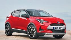 Toyota vén màn SUV cỡ nhỏ mới dựa trên nền tảng của Yaris, cạnh tranh với Nissan Juke