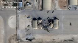 Ảnh vệ tinh hé lộ thiệt hại ở căn cứ Mỹ bị Iran nã tên lửa đạn đạo