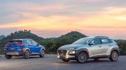 Hyundai Kona vươn lên vị trí thứ 3 trong bảng doanh số xe bán ra của TC Motor
