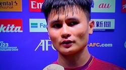 Quang Hải nói gì sau trận U23 Việt Nam chia điểm U23 UAE?
