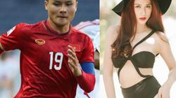 Cả sân vận động bất ngờ khi người mẫu Việt lọt vào camera trận mở màn U23 VN