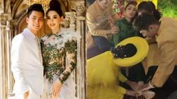 Lâm Khánh Chi bất ngờ ngất xỉu tại lễ cưới tập thể 10 cặp LGBT, chồng trẻ tiết lộ lý do
