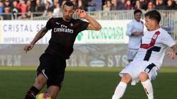 Ghi bàn cho AC Milan, Ibrahimovic lập ngay siêu kỷ lục