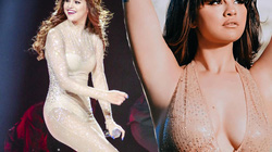 Selena Gomez khoe dáng trong trang phục mong manh