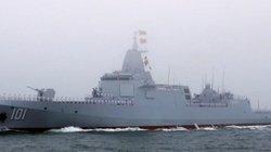 Trung Quốc chính thức đưa vào sử dụng tàu khu trục lớn nhất, mạnh nhất châu Á