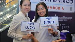 Chính phủ Campuchia cung cấp dịch vụ cá nhân hóa biển số xe