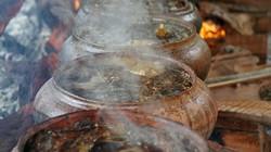Ảnh, clip: Làng cá kho lớn nhất miền Bắc rực lửa dịp cận Tết