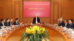 2 Ủy viên Bộ Chính trị, 22 sỹ quan cấp tướng bị kỷ luật