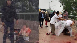 Đã bắt được nghi phạm chặn đường, chém liên tiếp người phụ nữ đang chở con nhỏ