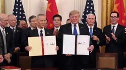 Ông Trump chính thức ký thỏa thuận thương mại đầu tiên với Trung Quốc