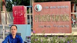 Chủ đầu tư dự án Nghĩa Điền tố PGD Sở TNMT vụ neo thủ tục cấp sổ đỏ