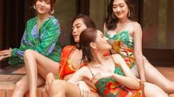 """Lan Ngọc cùng hội bạn thân diện bikini nóng bỏng, gây """"náo loạn"""" biệt phủ xứ Huế"""