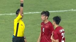 Vì sao Trần Đình Trọng phải nhận thẻ đỏ ở phút 90+4?