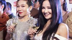 Diva Hồng Nhung khoe vòng 1 gợi cảm, đọ sắc cùng Hà Trần