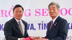 Trồng hoa sen OGA Nhật Bản tại thị xã Điện Bàn