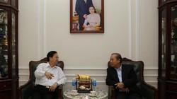 Thăm chúc Tết nguyên Chủ tịch nước Trương Tấn Sang, nguyên Thủ tướng Nguyễn Tấn Dũng