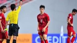 Đình Trọng nói gì về thẻ đỏ trong trận gặp U23 Triều Tiên?