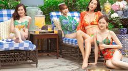 """""""Gái già"""" Ninh Dương Lan Ngọc rủ hội chị em về Huế diện bikini """"náo loạn"""" biệt phủ Lê Gia"""