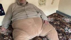 Lính Iraq chật vật bắt chiến binh IS nặng 130 kg