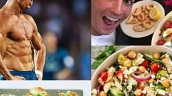 Cristiano Ronaldo ăn uống với khẩu phần như thế nào?