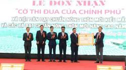 Việt Dân là xã đạt chuẩn NTM kiểu mẫu đầu tiên của Quảng Ninh