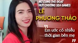 """Nữ cung thủ đoạt huy chương SEA Games Lê Phương Thảo: """"Em ước có nhiều thời gian bên mẹ"""""""
