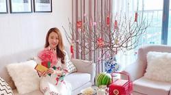 Bên trong căn hộ cao cấp ngập tràn sắc xuân của ngọc nữ Huỳnh Hồng Loan