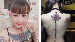Cô gái nghiện xăm mình ở An Giang tiết lộ hình khiến mình đau tới ngất xỉu