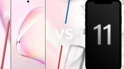 Nên mua iPhone 11 đỏ hay Galaxy Note 10 đỏ chơi tết?