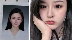 """Sắc đẹp khiến người nhìn ngẩn ngơ của """"nữ thần ảnh thẻ"""" Trung Quốc"""