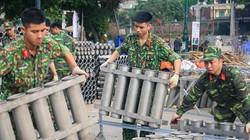 Hàng loạt trận địa pháo hoa Hà Nội sẵn sàng khai hỏa đêm giao thừa