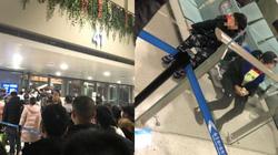 Hành xử không ngờ tại sân bay của cặp cha mẹ có con nghi bị nhiễm virus từ Vũ Hán