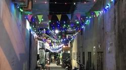 Quảng Nam: Xóm làng, ngõ ngách rực sáng trong đêm giao thừa