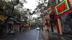 Phố phường Hà Nội vắng lặng sáng mùng 1 Tết