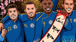 HLV Lampard cùng dàn sao Chelsea chúc Tết, 'lì xì' cho fan Việt Nam