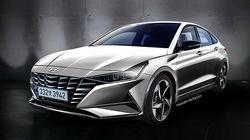 Hyundai Elantra thế hệ mới lộ diện bản phác thảo với thiết kế ấn tượng