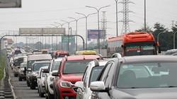 Cửa ngõ Thủ đô ùn tắc nhiều cây số sau kỳ nghỉ Tết Canh Tý